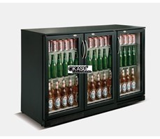Tủ lạnh quầy bar mini 3 cánh kính OKASU SC-338F