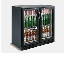 Tủ lạnh quầy bar 2 cánh kính mini OKASU SC-228F