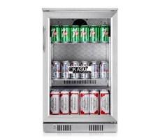 Tủ làm lạnh mini quầy bar 1 cánh kính OKASU SC-108FS