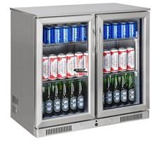 Tủ mát quầy bar mini 2 cánh kính OKASU SC-228FS