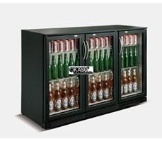 Tủ lạnh quầy bar mini 3 cánh kính OKASU SC-318F