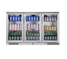 Tủ mát quầy bar mini 3 cánh kính OKASU SC-338FS