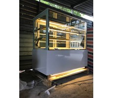 Tủ trưng bày bánh kem OKASU OKA-1200M (Đế chân đèn led)