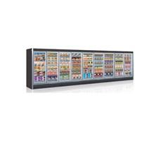 Tủ trưng bày siêu thị Hàn Quốc SMR3G2-02D