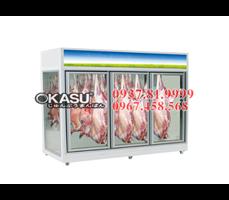 Tủ mát trưng bày thịt tươi OKASU -09FE-5C