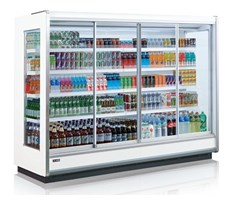 Tủ mát trưng bày thức uống dạng cửa trượt OPO SMM4D2-06SSD