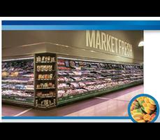 Tủ trưng bày siêu thị ROCK ECO