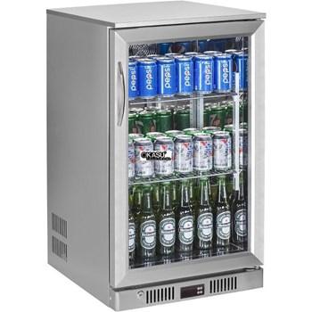 Tủ mát quầy bar mini 1 cánh kính OKASU SC-138FS