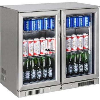 Tủ làm lạnh quầy bar mini 2 cánh kính OKASU SC-208FS