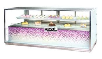 Tủ trưng bày bánh OKAU TSG2-B4-802