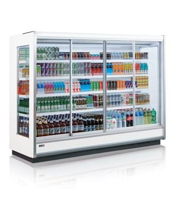 Tủ trưng bày siêu thị Hàn Quốc SMM4D2-12NOD