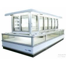 Tủ đông trưng bày siêu thị cửa lùa Carrier AIS2511-L4