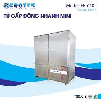 Tủ cấp đông nhanh thủy sản Frozen FR-610L