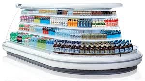 Tủ trưng bày siêu thị Southwind SMS3D2-08RT
