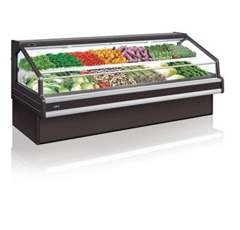 Tủ trưng bày rau củ siêu thị Southwind SMF1V2-10TP