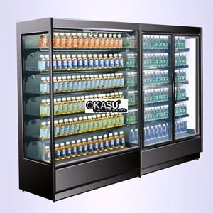 Tủ mát trưng bày siêu thị OKASU OKS-SG16CL