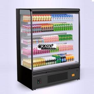 Tủ mát trưng bày siêu thị OKASU OKS-SG15AM