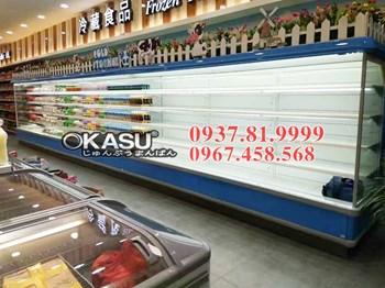 Tủ mát trưng bày siêu thị OKASU OKS-BX15F