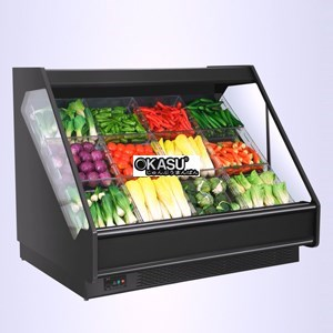Tủ trưng bày rau củ quả OKASU OKS-SG17YC