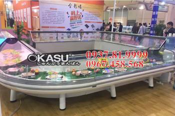 Tủ trưng bày siêu thị OKASU OKS-SG18SQ