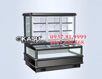 Tủ mát trưng bày siêu thị OKASU OKS-SG16SE