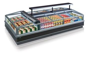 Tủ trưng bày thực phẩm đông lạnh OPO P0G1-CW