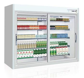 Tủ trưng bày sữa, nước uống cửa trượt OPO XPD5-SD