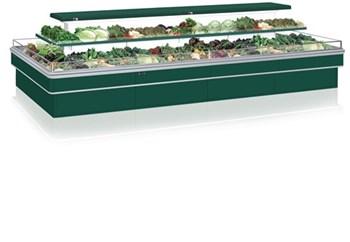 Tủ trưng bày rau củ 2 tầng OPO I1V1-03W