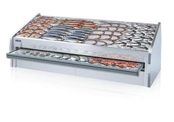 Tủ trưng bày hải sản có ngăn kéo OPO SMF0N2-06SG