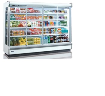 Tủ mát trưng bày nhiều ngăn dạng mở cửa trượt OPO SMC4D2-06SD