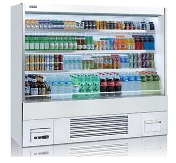 Tủ mát trưng bày nhiều ngăn dạng mở OPO SMX3D2-07P