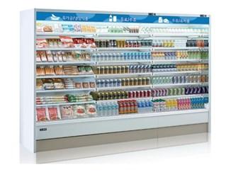 Tủ mát trưng bày nhiều ngăn dạng mở OPO SMC6D2-04LR