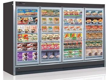 Tủ đông trưng bày thực phẩm nhiều ngăn Reach-in OPO SMR3G2-02D