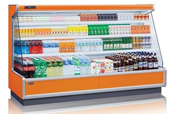 Tủ mát trưng bày đồ uống dạng mở nhiều ngăn OPO SMS3D2-12NT