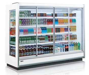 Tủ mát trưng bày thức uống dạng cửa trượt OPO SMM4D2-08SSD
