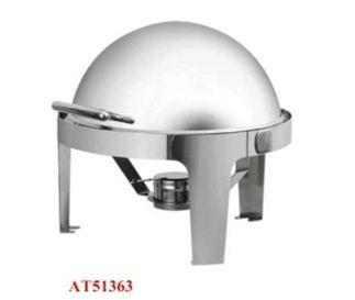 Nồi hâm buffet tròn chân inox ATOSA AT51363
