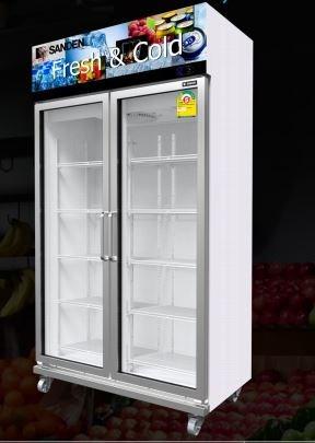 Tủ mát Sanden 2 cánh kính OEM-1205