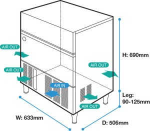 may lam da hoshizaki im-45cne ( 44kg/ngay ) hinh 0