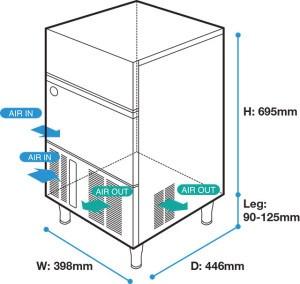 may lam da hoshizaki im-30cne ( 28kg/ngay ) hinh 0