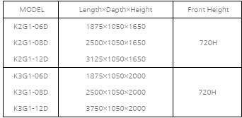 tu dong trung bay sieu thi southwind k3g1-08d hinh 0