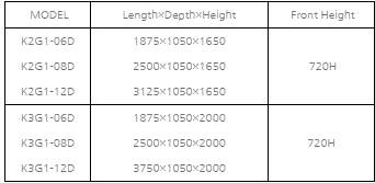 tu dong trung bay sieu thi southwind k3g1-12d hinh 0