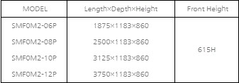 tu mat trung bay hai san va thit southwind  smf0m2-06p hinh 0