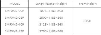 tu mat trung bay hai san va thit southwind  smf0m2-08p hinh 0