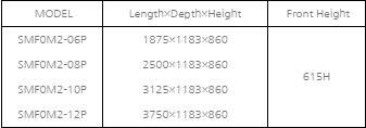 tu mat trung bay hai san va thit southwind  smf0m2-10p hinh 0