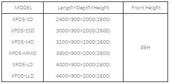 tu mat trung bay sieu thi southwind xpd5-ld hinh 0