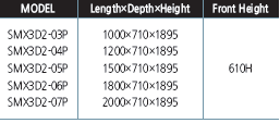 tu trung bay sieu thi southwind smx3d2-04p hinh 1